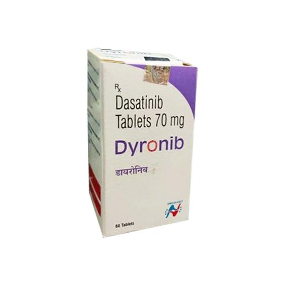 DASATINIB - DYRONIB 70MG TABLETS