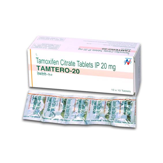 TAMOXIFEN - TAMTERO 20MG TABLETS