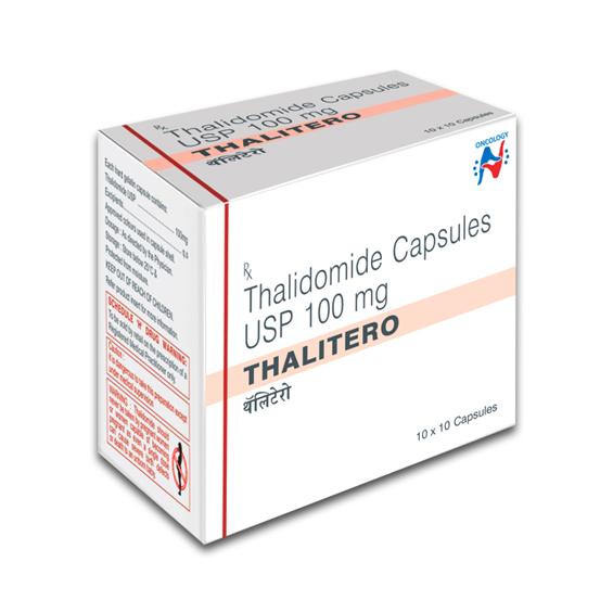 THALIDOMIDE - THALITERO 100MG CAPSULES