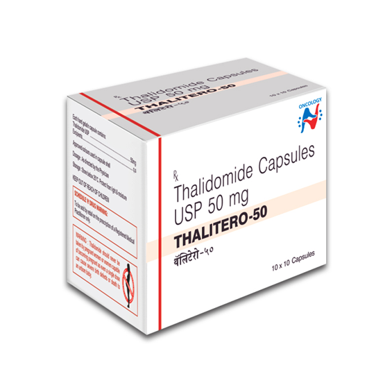 THALIDOMIDE - THALITERO 50MG CAPSULES